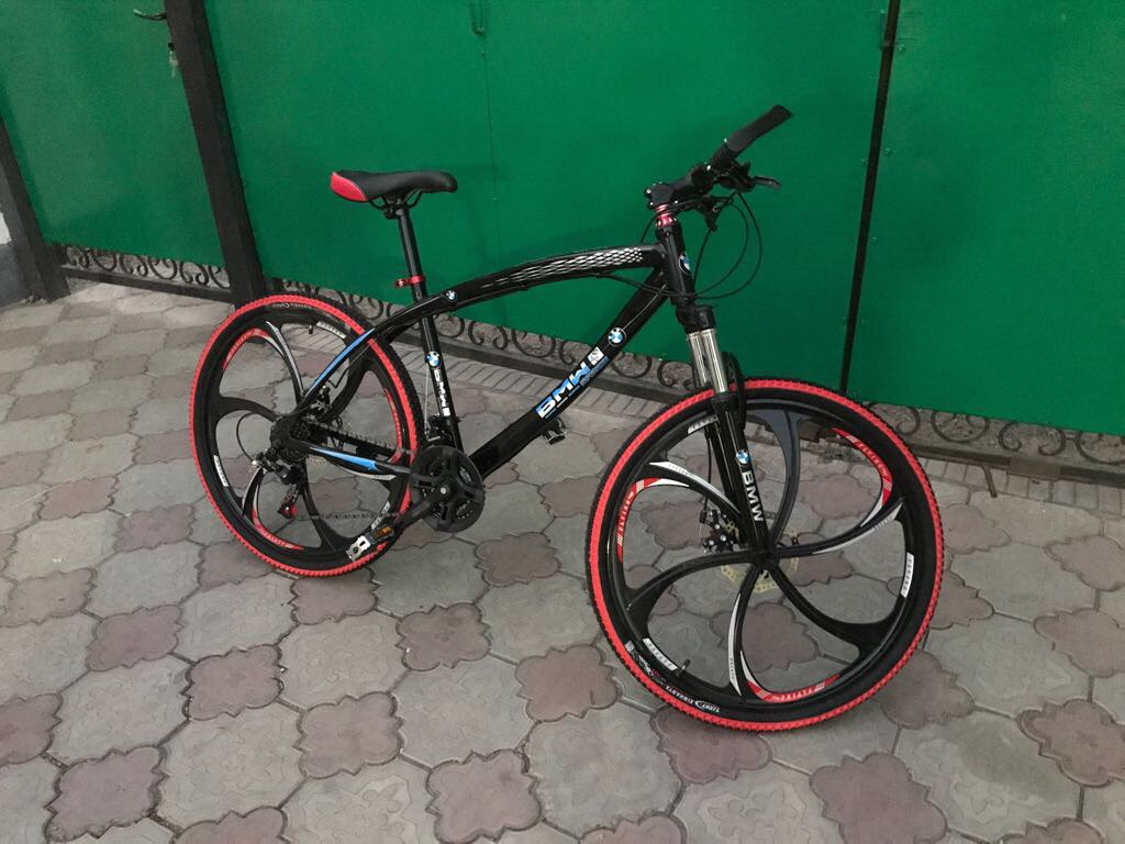 d203e7cd5c411 Велосипед BMW на литых дисках ⋆ доставка по Алматы, Казахстану, в ...