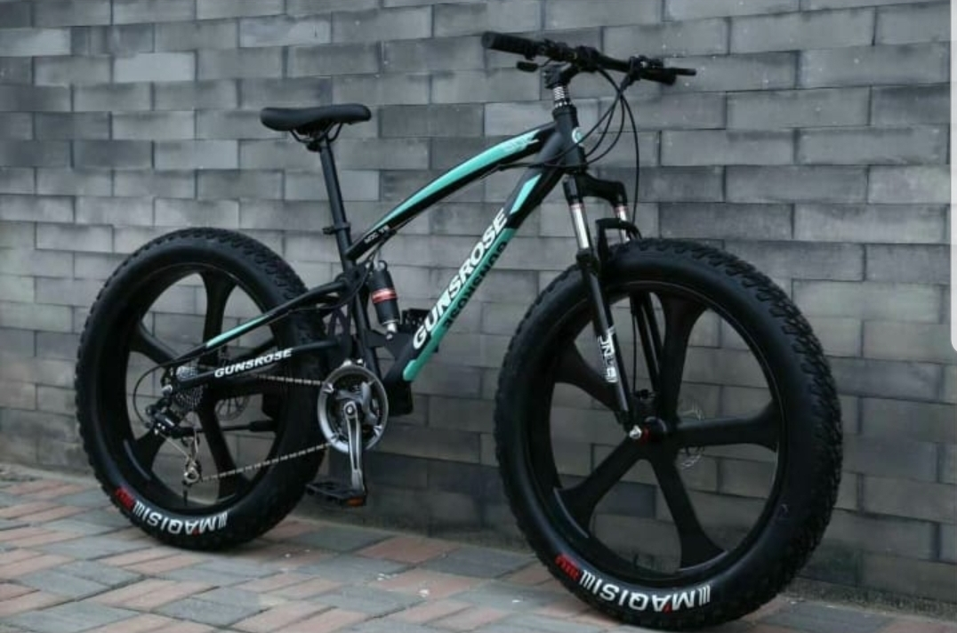 Fatbike (фэтбайк) Gunsrose 26-21 TOP двухподвес