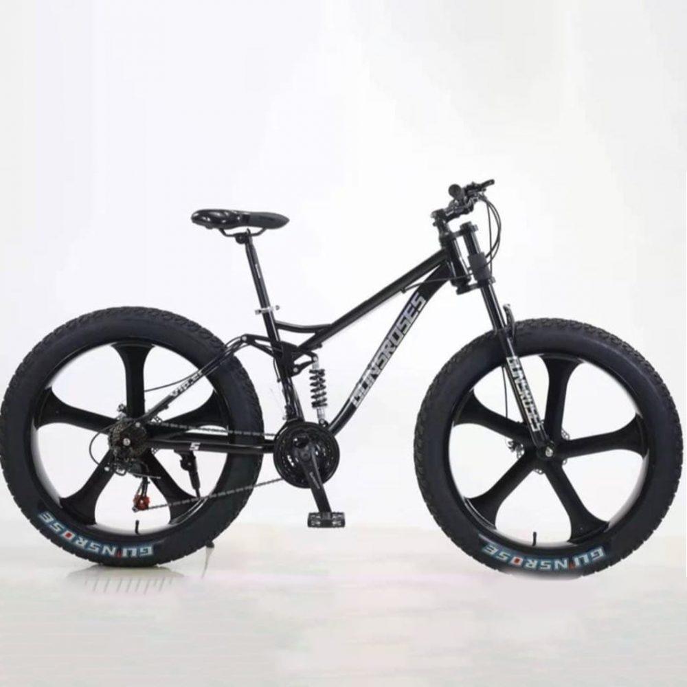 Велосипед Fatbike (фэтбайк) Gunsrose 26-21 K2 Двухподвес
